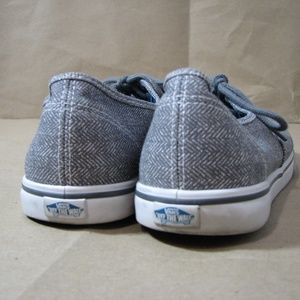53da5bc1cd Vans Shoes - Vans Castlerock Gray Herringbone Sneakers Size 8